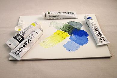 Artistkvalitet akrylfärger | www.dinatelje.se