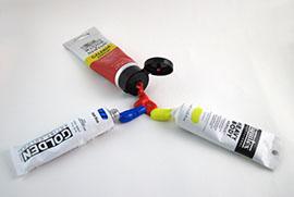 Primärfärgerna röd gul och blå | www.dinatelje.se