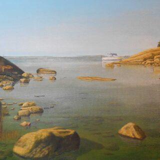 Skiktmåleri, glazing, måla lager-på-lager || dinatelje.se